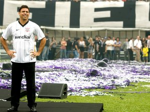 Marketing ou Futebol? O que Ronaldo veio fazer? fonte: globoesporte.com