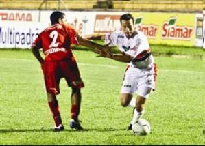 Branquinho golaço contra o São Paulo.