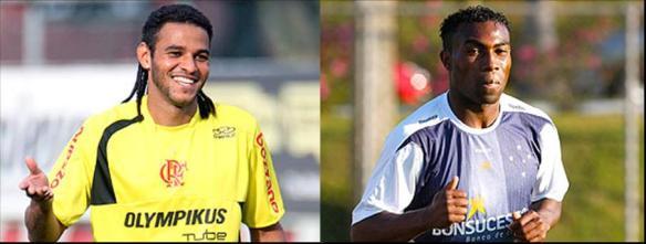 Se essa dupla fosse pro mesmo time, hein... fonte: globoesporte.com
