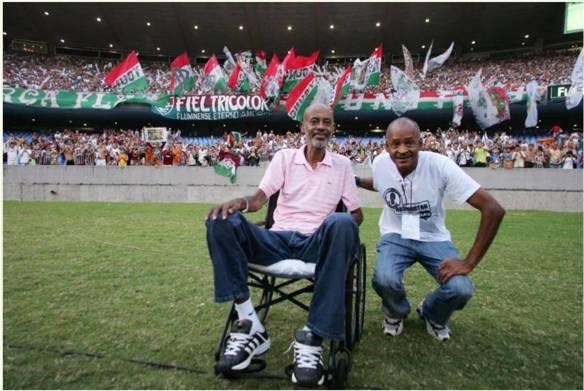 "Washington e Assis, o famoso ""Casal 20"" do Fluminense."