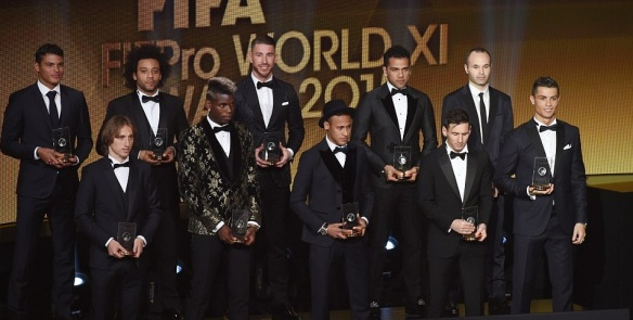 FIFA Fifpro World XI 2015